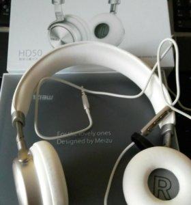 Наушники Meizu HD 50 белые.
