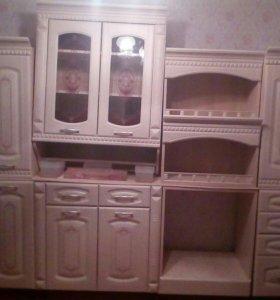Мебель для кухни Глория и кухонный уголок Надежда.