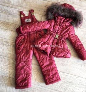 Зимний костюм на девочку Borelli