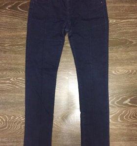 Леггинсы джинсовые эластичные на резинке 44 размер
