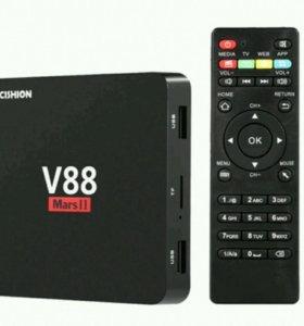 Smart TV приставка V88 WiFi, 2/8GB