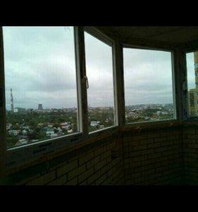 Стекло от балконной рамы