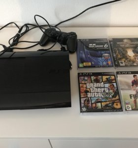 PlayStation 3 Super Slim 500Gb (цвет черный)