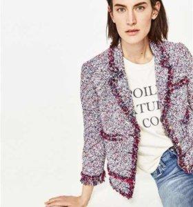 Пиджак в стиле Шанель Zara