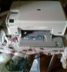 Принтер ксерокс цветной - струйный