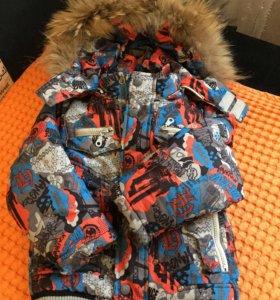 Зимний костюм рост 92