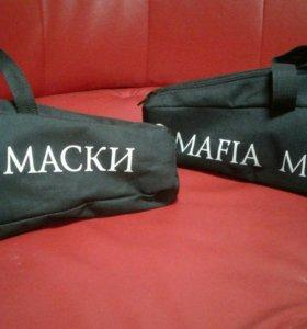 """Маски для игры """"Мафия"""" 18шт."""