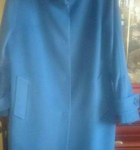 Демисезонное пальто, шерсть с кашемиром, ф.Camelia