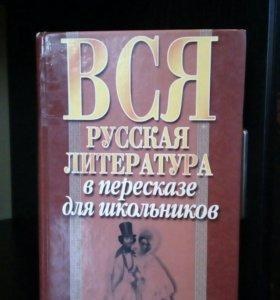 Кгига #11 Вся русская литература в пересказе