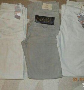 Новые льняные штаны