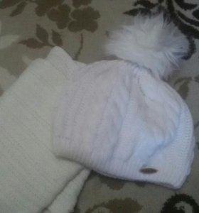 Набором шапка шарф