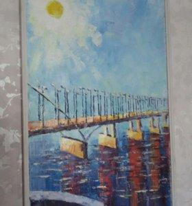 Картина члена союза художников России