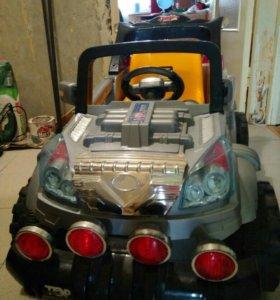 Машина на аккумуляторе