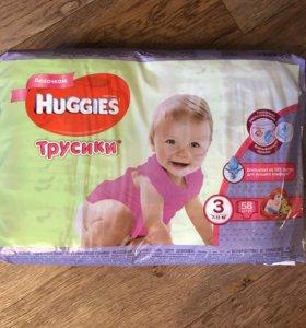 Трусики 3 huggies