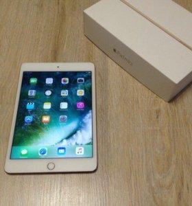 Новый Apple Ipad mini4 Wi-Fi+Cellular(Gold) 32Gb