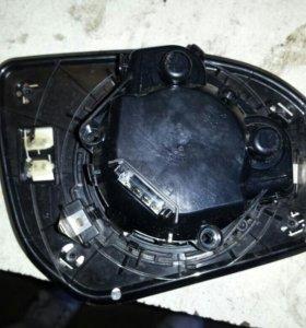 Зеркальный элемент левый киа рио с подогревом