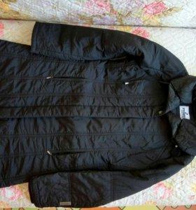 Пальто синтепон. 42-44 размер.