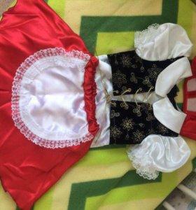 Костюм «красная шапочка»р-р 110-116