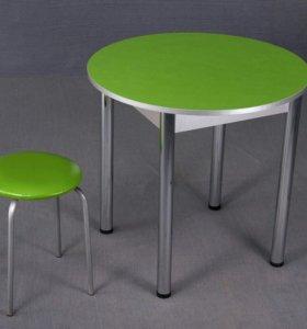 Кухонный стол круглый новый