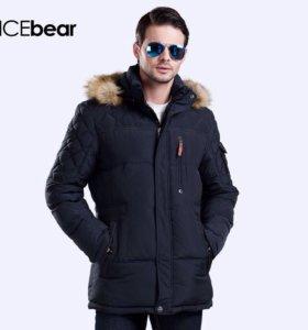 """Пуховик Зимний """"ICEbear"""" НОВЫЙ"""