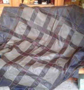 кожанный коврик-покрывало