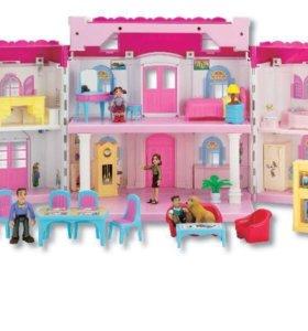 """Кукольный домик «My wonderful home"""""""