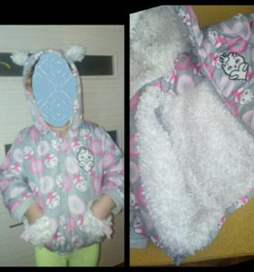 Куртка на девочку 1-2 года