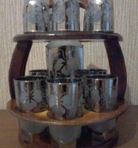 Набор (графин, стаканы и стопки)