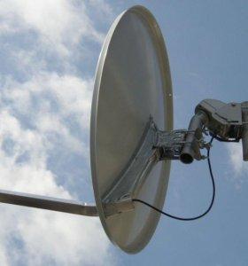 Спутниковое и аналоговое телевидение