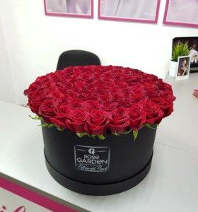 101 эквадорская роза