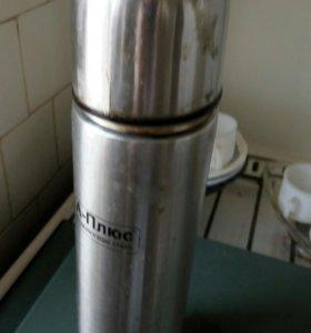 Термос из нержавейки 1.0 литр.