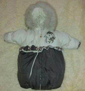 Зимний комбинезон  трансформер Malek baby
