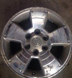 Оригинальные диски на Toyota LC Prado 120