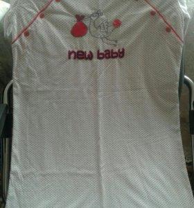 Ночная сорочка для кормящей мамы