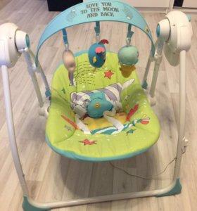 Электронные качели Happy baby