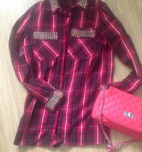 Рубашка флис