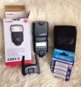 Canon Speedlite 430EX II + Panasonic Eneloop