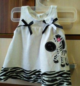 Платья для малышки до года