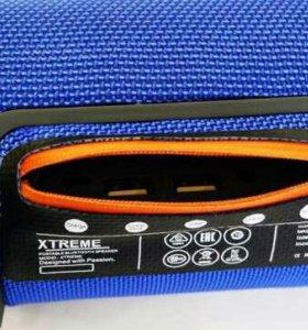 JBL mini XTREME blue bluetooth колонка