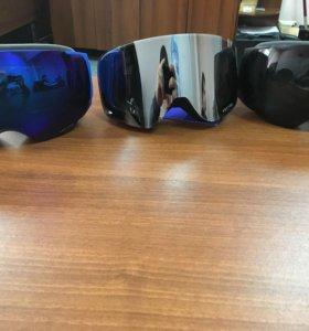 Маски горнолыжные (очки)