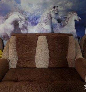 Диван-малютка, кресло- кровать.