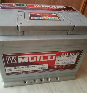 Аккумулятор Mutlu Silver 60a/h