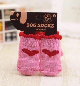 Носки для собаки кошки размер S новые
