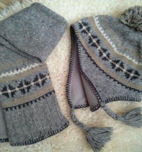 Шапка+шарф NEXT