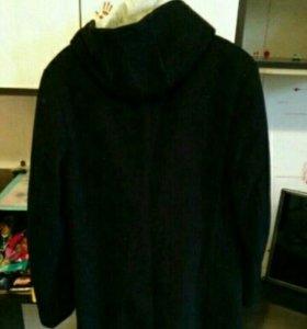 Пальто со съёмной подкладкой(Жилетка с капюшоном)
