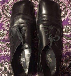 Туфли/ботинки мужские/натуральная кожа