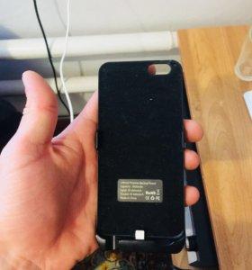 Чехол зарядка на айфон 6 и 6s