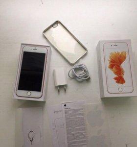 iPhone 6s/64 розовое золото