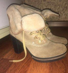 Ботинки натуралка
