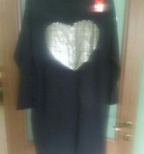 Новое платье туника 50-52